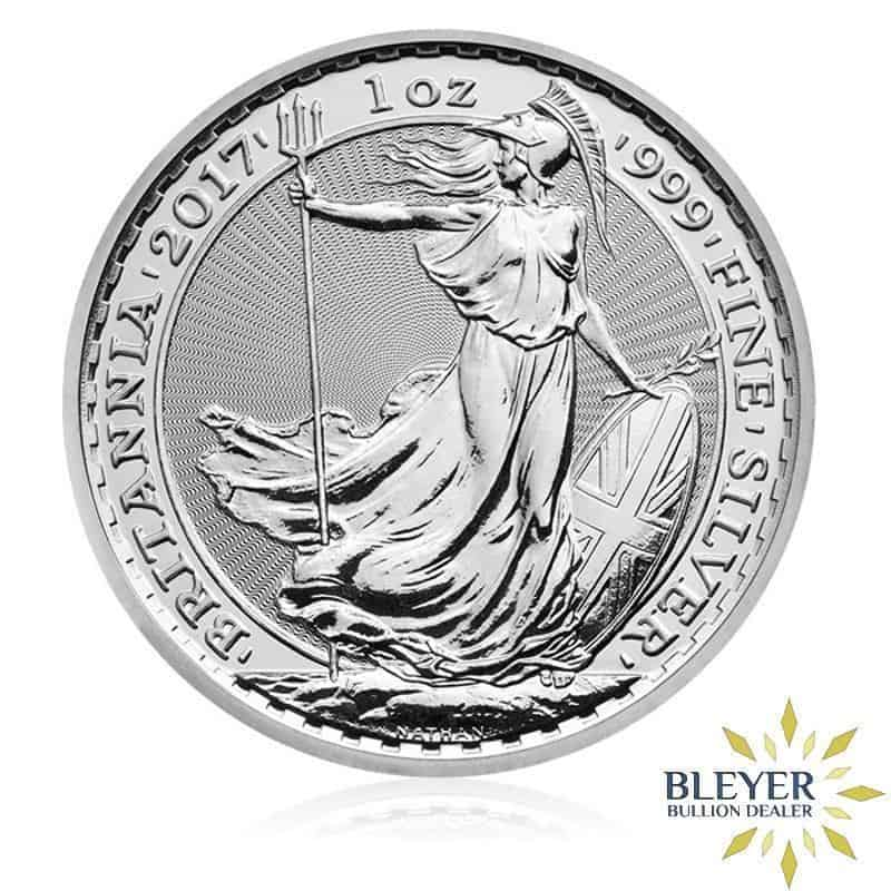 1oz Silver UK Britannia Coin, Mixed Years (Best Value)