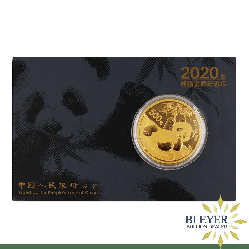 30g Gold Chinese Panda Coin, 2020