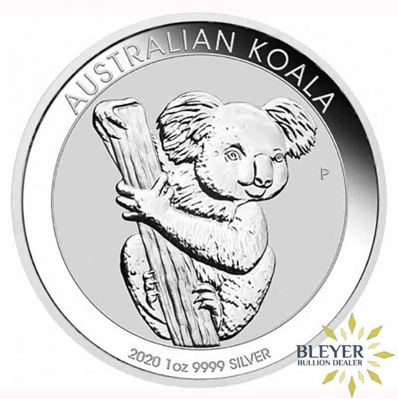 1oz Silver Australian Koala coin, 2020
