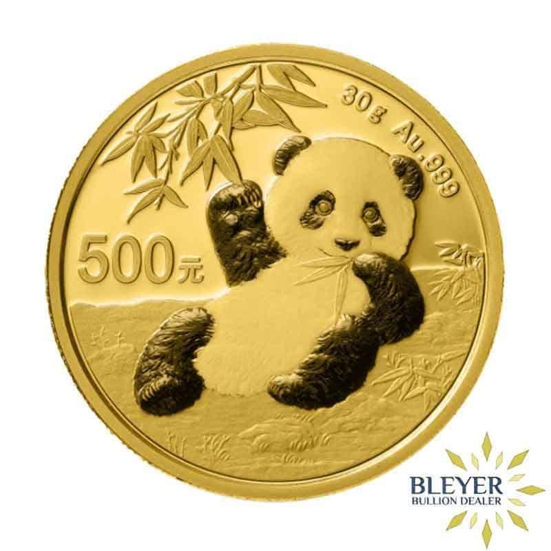 30g Gold Chinese Panda Coin, 2020