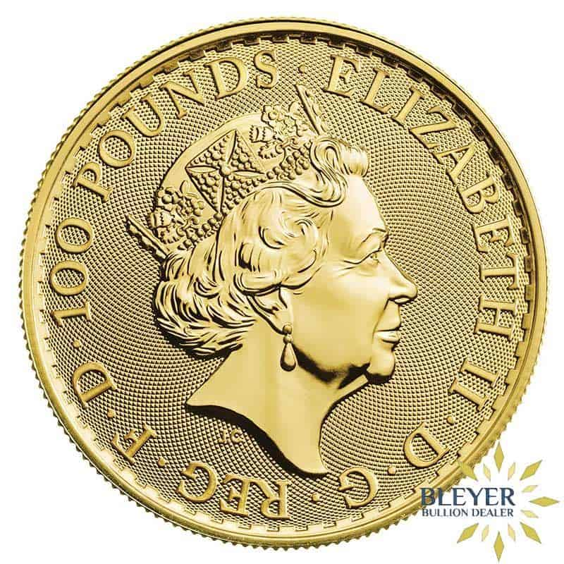1oz Gold UK Britannia Coin, 2021