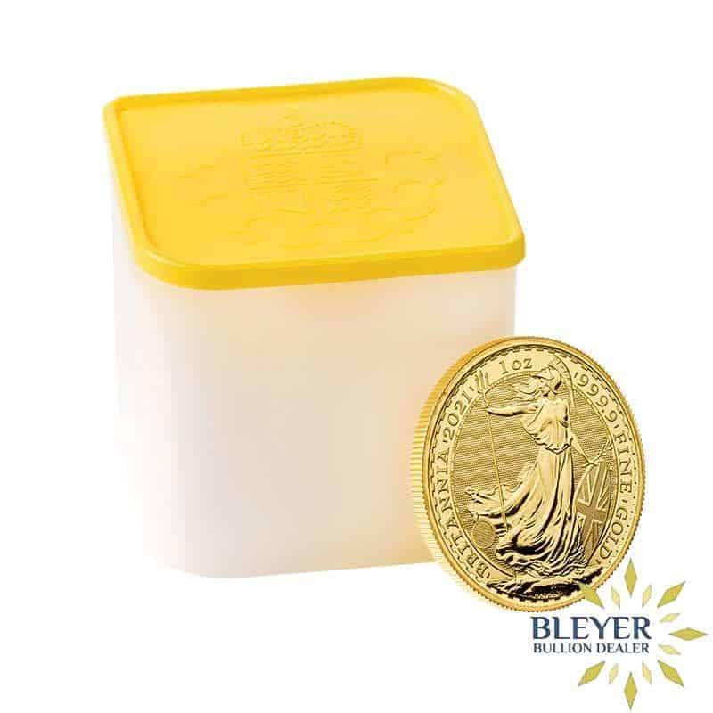 1oz Gold UK Britannia Coin, 2021