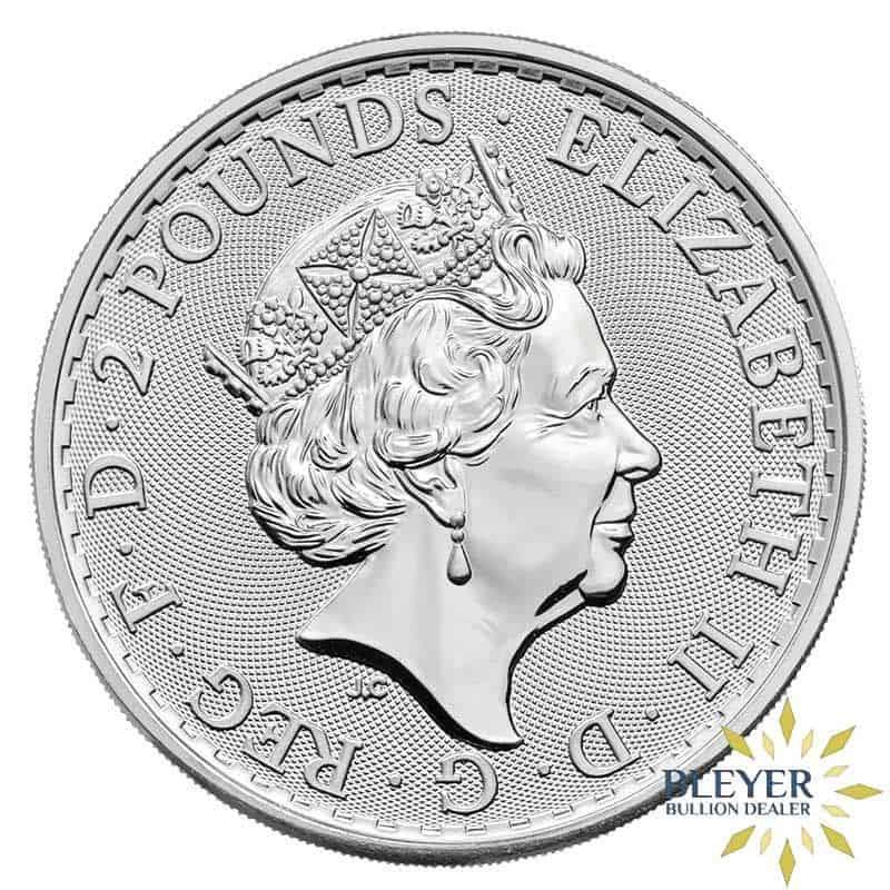1oz Silver UK Britannia Coin, 2021
