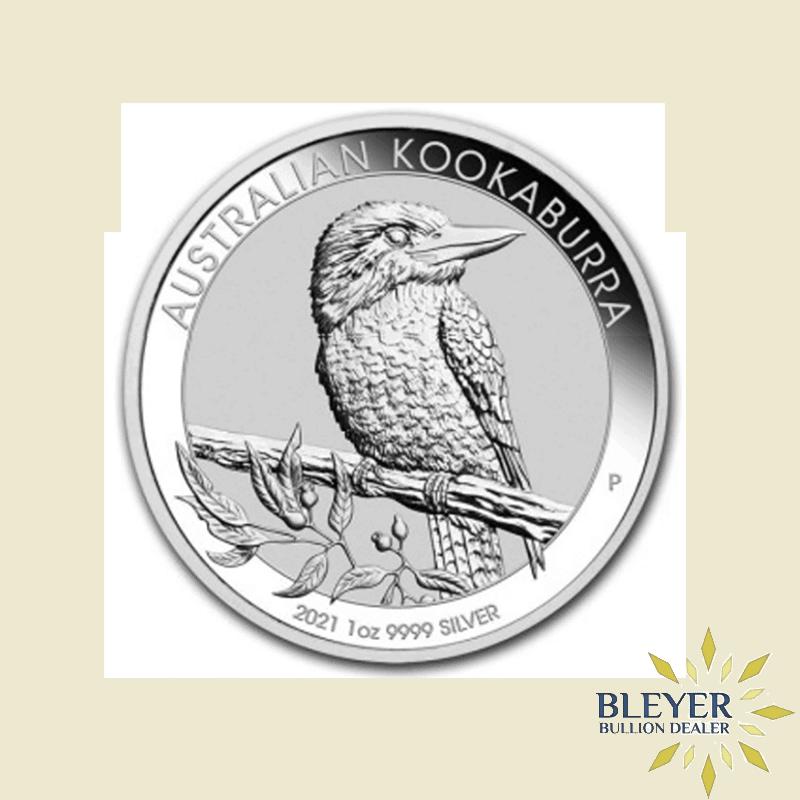 1oz Silver Australian Kookaburra Coin, 2021