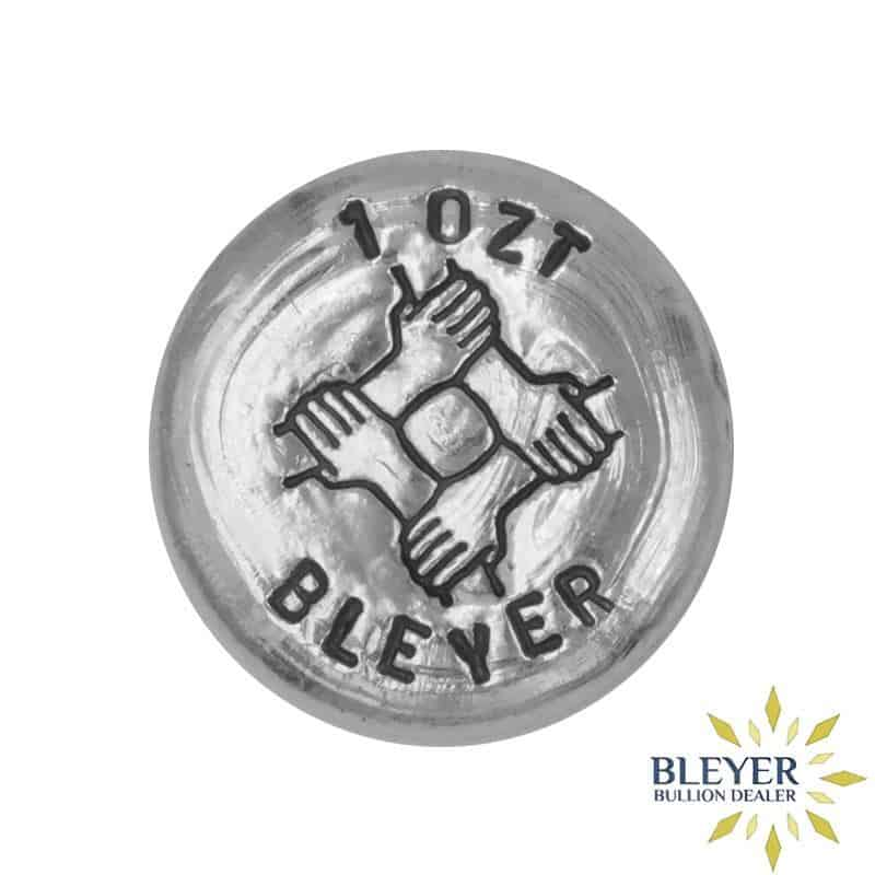 1oz Silver Bleyer Hand Poured Unity Round 2020