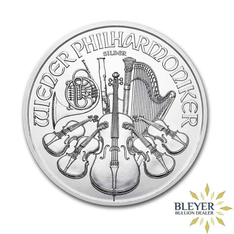 1oz Silver Austrian Philharmoniker, 2021