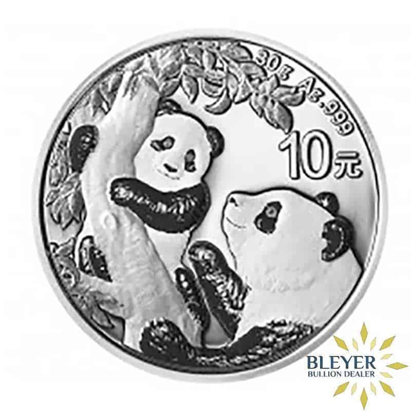 30g Silver Chinese Panda Coin, 2021