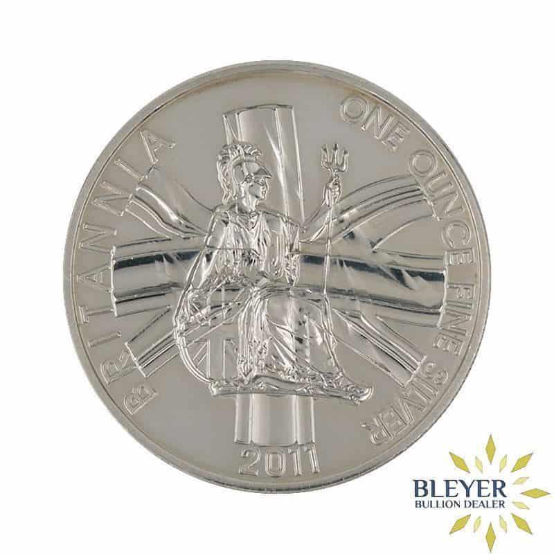 1oz Silver UK Britannia Coin, 2011