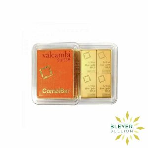 Bleyers Bars 1oz Gold Valcambi Minted CombiBar 5