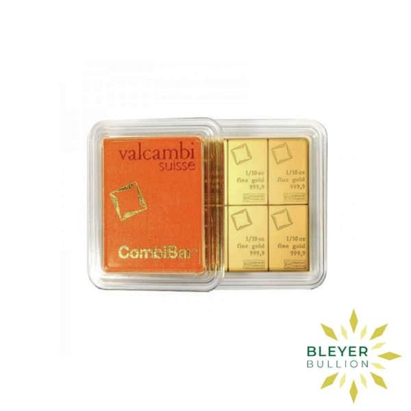 Bleyers Bars 1oz Gold Valcambi Minted CombiBar 5
