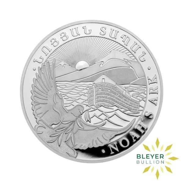Bleyers Coin 1oz Silver Armenian Noahs Ark Coin 2021 1