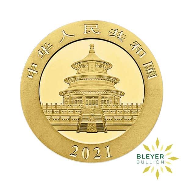 Bleyers Coin 30g Gold Panda BACK