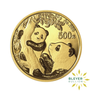 Bleyers Coin 30g Gold Panda FRONT