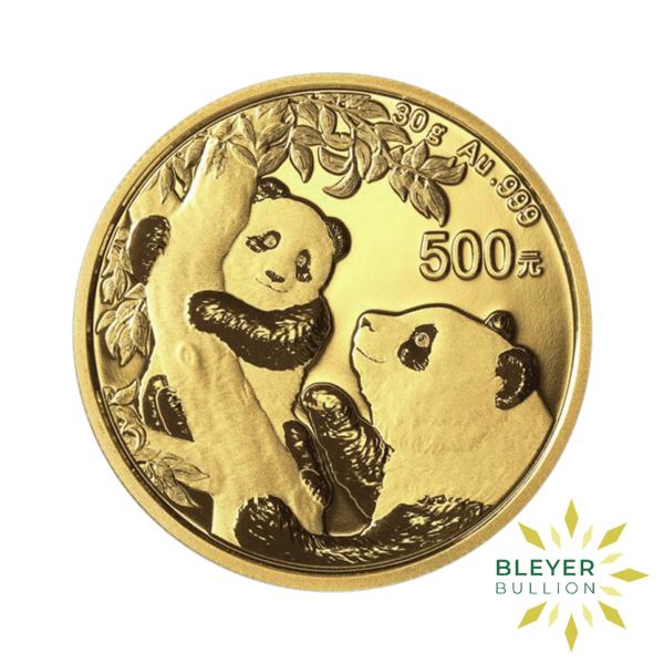 Bleyers Coin 30g Gold Panda FRONT