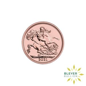 Bleyers Coin Cutouts Gold Sovereign