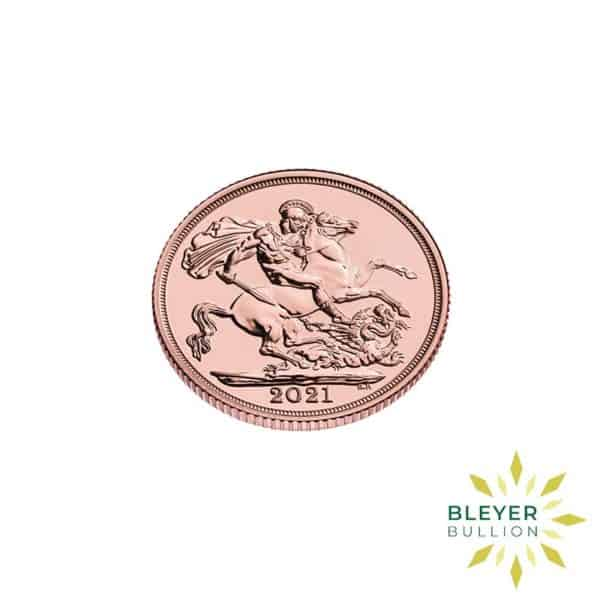 Bleyers Coin Cutouts Gold Sovereign side