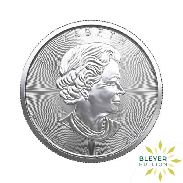 Silver Canadian Maple Coins 2020 B