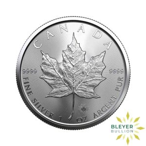 Silver Canadian Maple Coins 2020 F