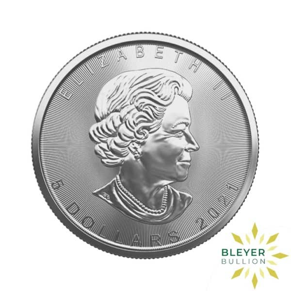Silver Canadian Maple Coins 2021 B 1