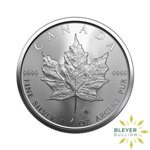 Silver Canadian Maple Coins 2021 F