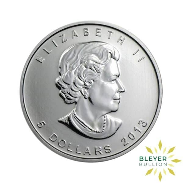 Silver Canadian Maple Coins Mixed B