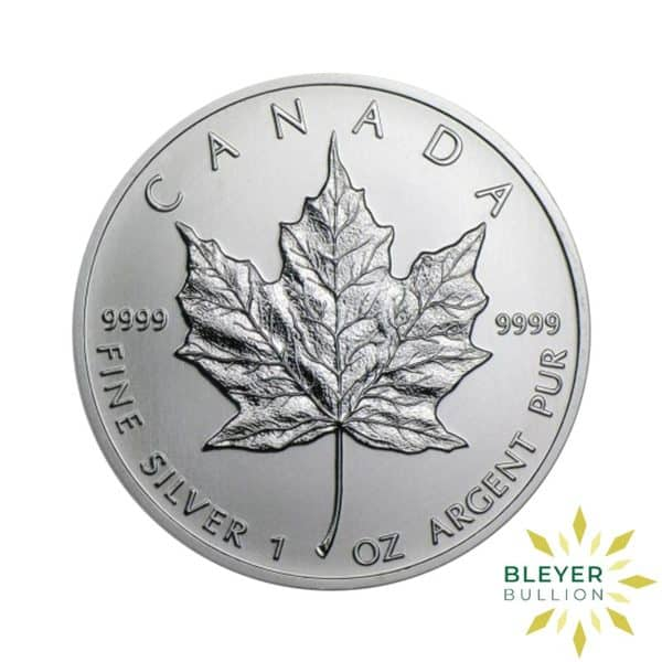 Silver Canadian Maple Coins Mixed F