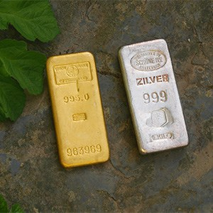 1KG Gold Silver Bars