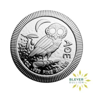 Bleyers Coin 1oz Best Value Athenian Owl FRONT