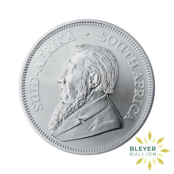 Bleyers Coin 1oz Silver Krugerrand Best Value BACK