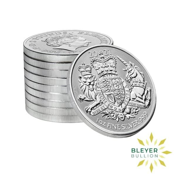 Bleyers Coin 1oz Silver Royal Arms 2021 STACK