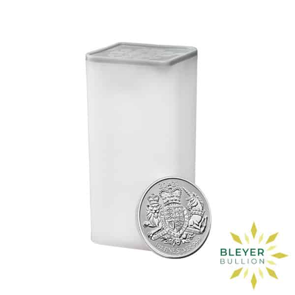 Bleyers Coin 1oz Silver Royal Arms 2021 TUBE