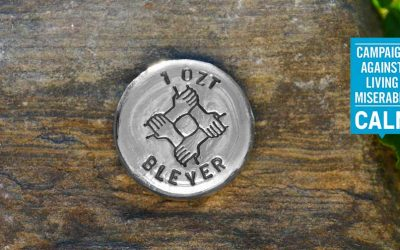 Handpoured Silver Unity Rounds – CALM Charity Update