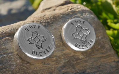 Hand Poured Silver Charity Unity Round Exclusive to Bleyer