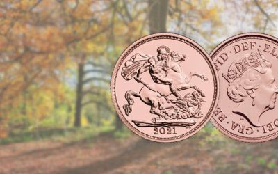 NEW The Royal Mint's 2021 Gold Sovereign Coin