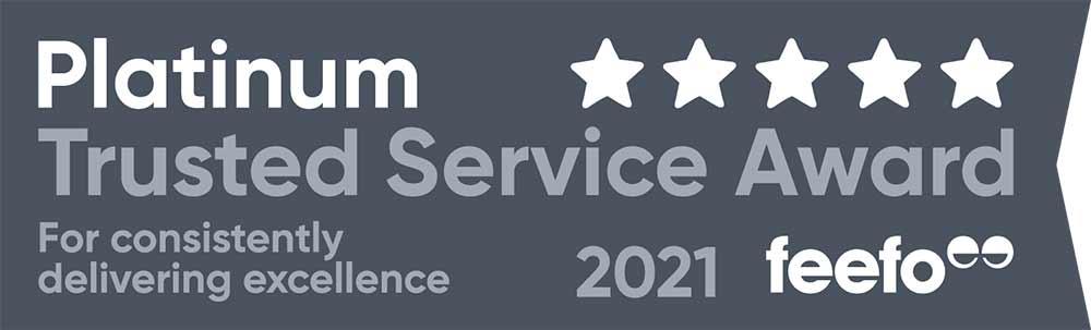 feefo platinum service 2021 wide tag solid dark