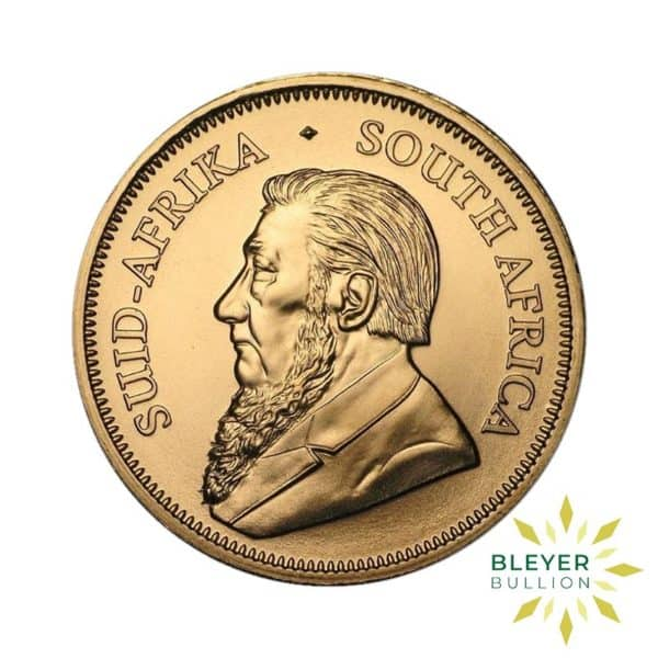 Bleyers Coin Cutouts 1oz Gold South African Krugerrand Coin 2019 Back