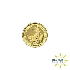 Bleyers Coin Cutouts 2020 Gold UK Britannia Coins 1 10oz Front