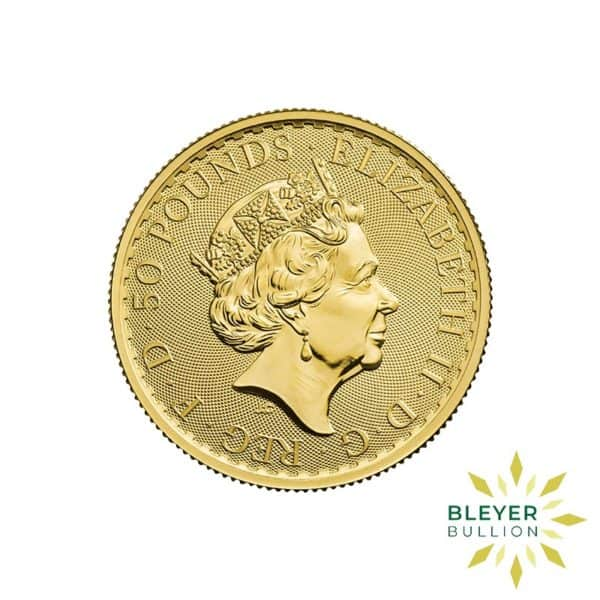 Bleyers Coin Cutouts 2020 Gold UK Britannia Coins 1 2oz Back 1