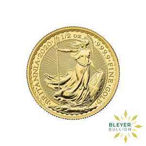 Bleyers Coin Cutouts 2020 Gold UK Britannia Coins 1 2oz Front 1