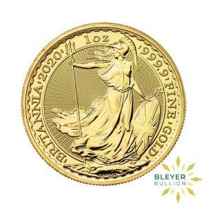 Bleyers Coin Cutouts 2020 Gold UK Britannia Coins 1oz Front