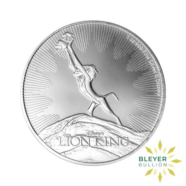1oz Silver NIUE Disney The Lion King The Circle of Life Coin 2020 Front