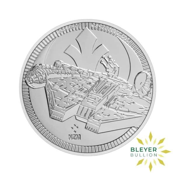 1oz Silver NIUE Millennium Falcon Coin 2021 Front