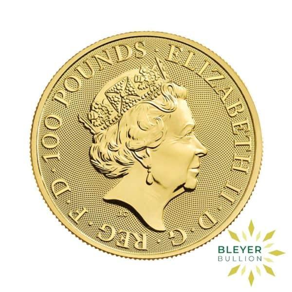 Bleyers Coin 1oz Gold UK Robin Hood Coin 2021 2