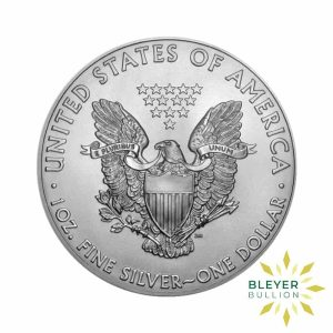 Bleyers Coin 1oz Silver American Eagle Coin 2020 Front
