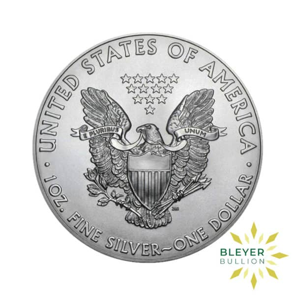 Bleyers Coin 1oz Silver American Eagle Coin 2021 Front2