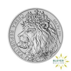 Bleyers Coin 1oz Silver NIUE Czech Lion Coin 2021 Front