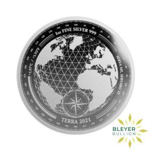 Bleyers Coin 1oz Silver Tokelau Terra Coin 2021 Front