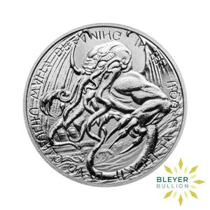 Bleyers Coin 1oz Silver Tokelau The Great Old One Cthulhu Coin 2021 Front2