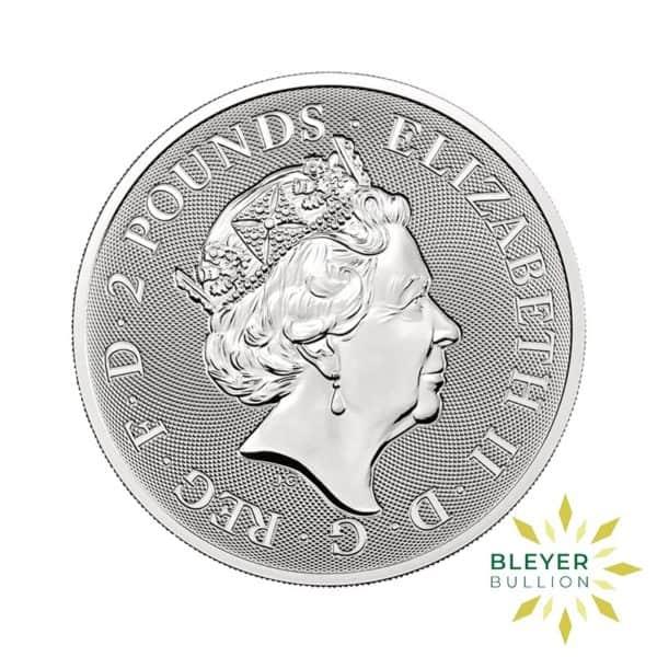 Bleyers Coin 1oz Silver UK Valiant Coin 2021 2