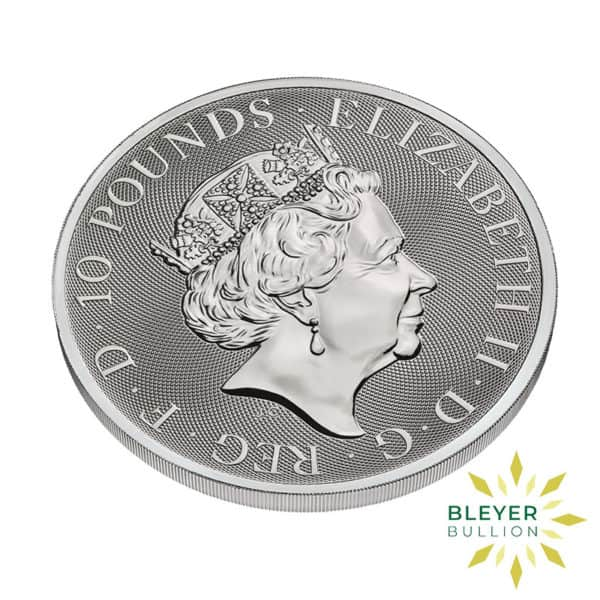 Bleyer's-Coin-10oz-Silver-UK-Queen's-Beast-The-White-Horse-of-Hanover-Coin,-2021-4